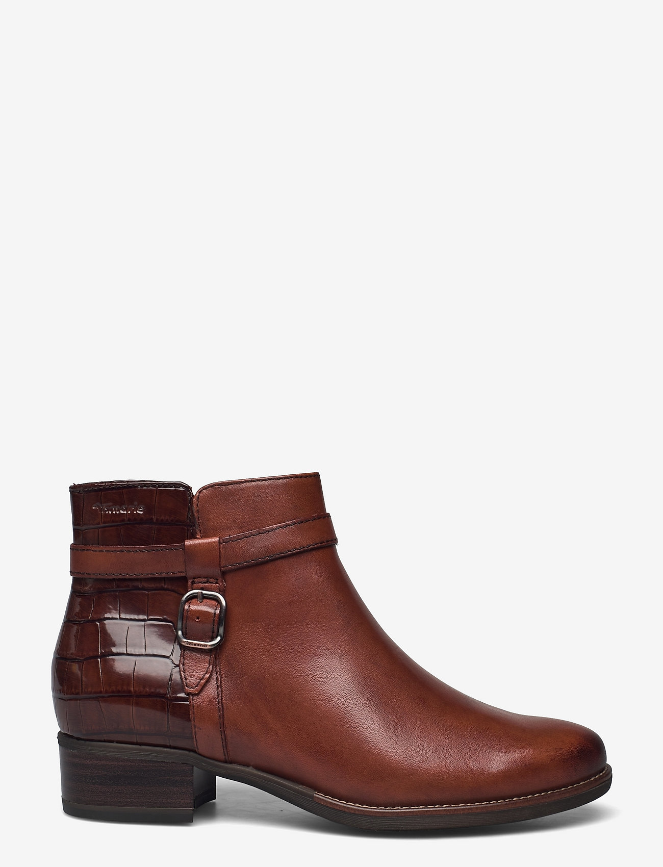 Tamaris - Woms Boots - Marly - puszābaki bez papēža - chestnut comb - 1