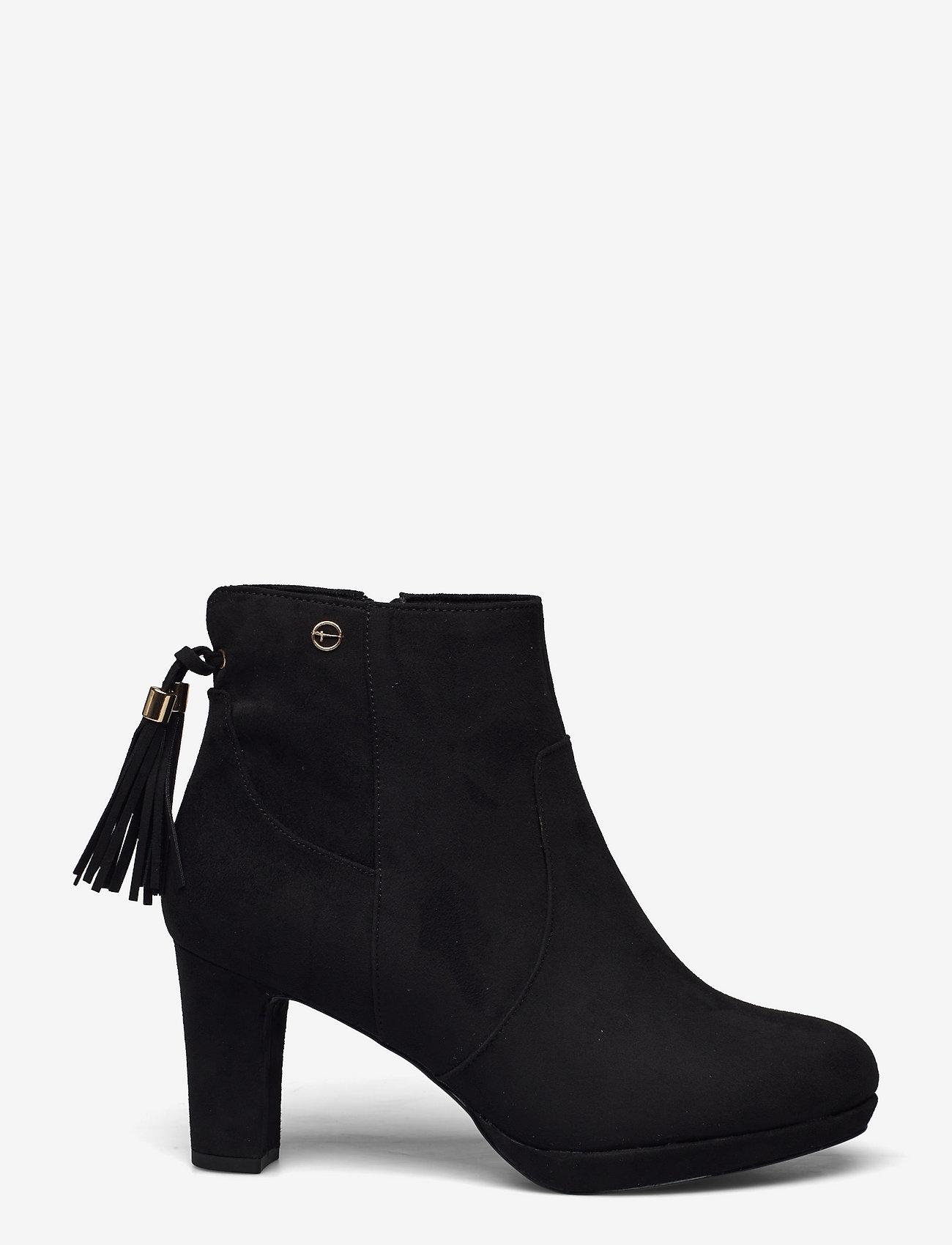 Tamaris - Woms Boots - Aviva - augstpapēžu puszābaki - black - 0