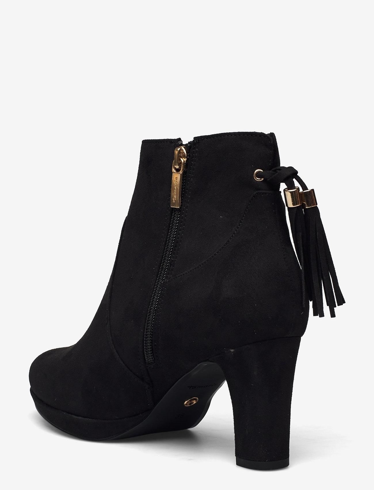 Tamaris - Woms Boots - Aviva - augstpapēžu puszābaki - black - 1