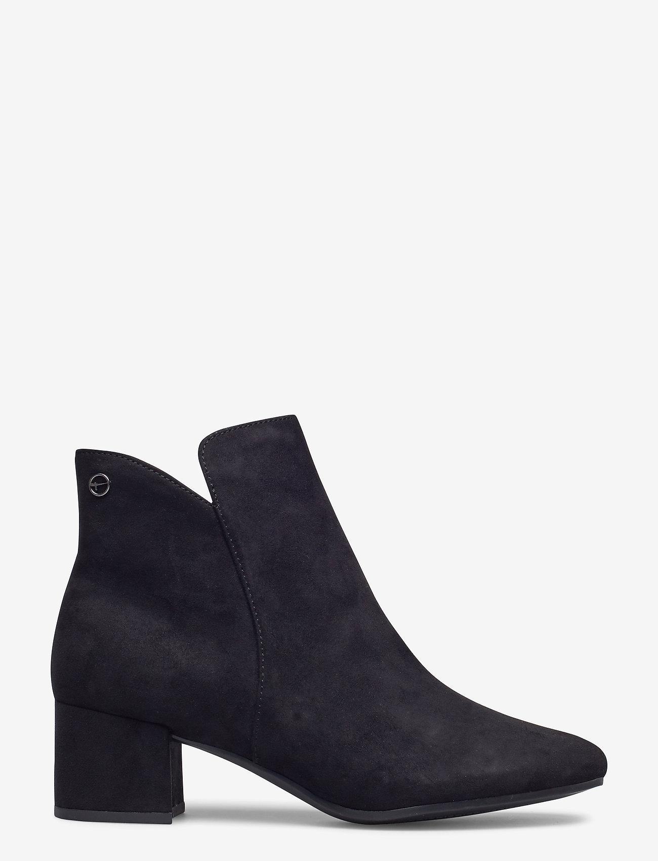 Tamaris - Woms Boots - enkellaarsjes met hak - black - 1
