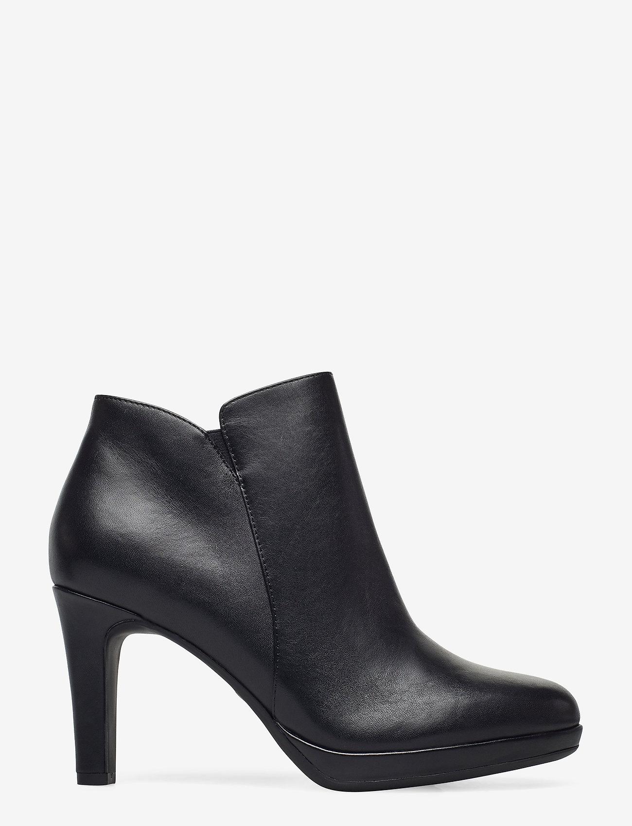 Tamaris - Woms Boots - enkellaarsjes met hak - black uni - 1