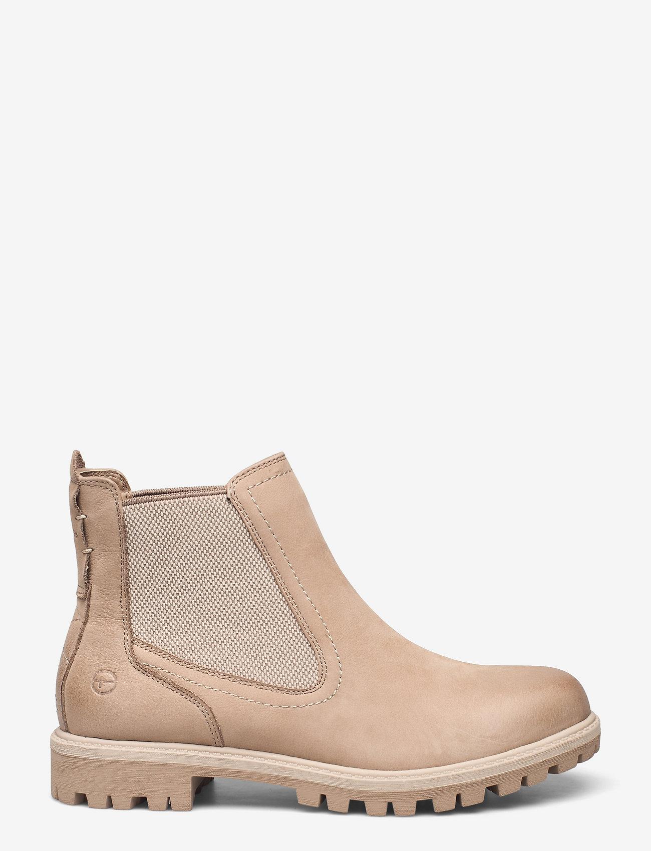 Tamaris - Woms Boots - Papaw - chelsea stila zābaki - taupe - 1