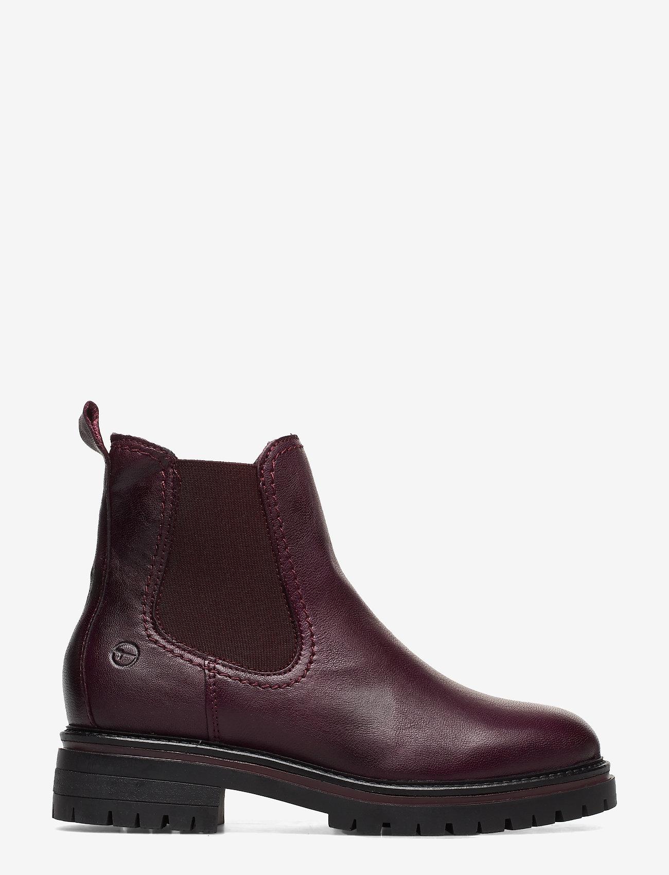 Woms Boots (Bordeaux Leath) - Tamaris TCAD6a