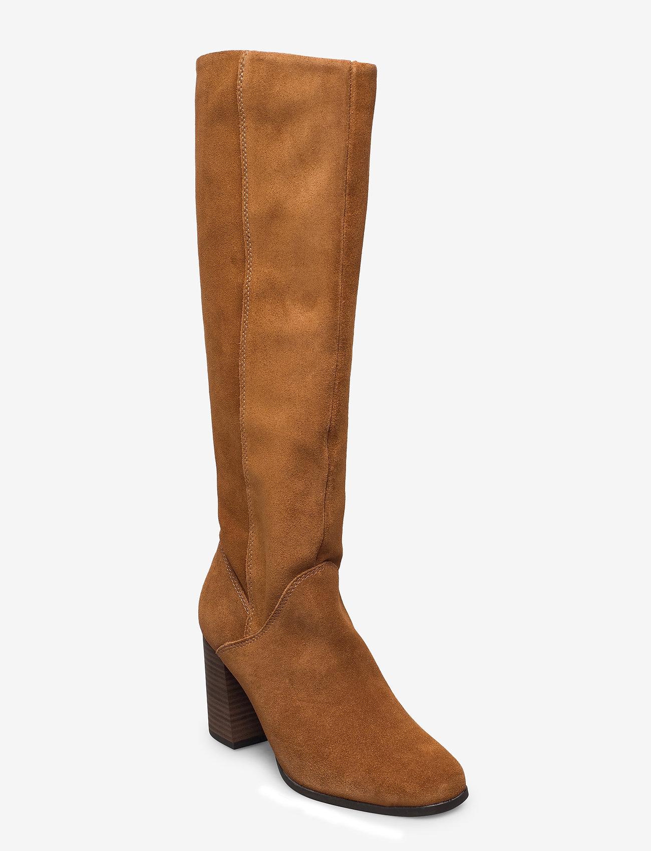 Tamaris - Woms Boots - lange laarzen - muscat - 0