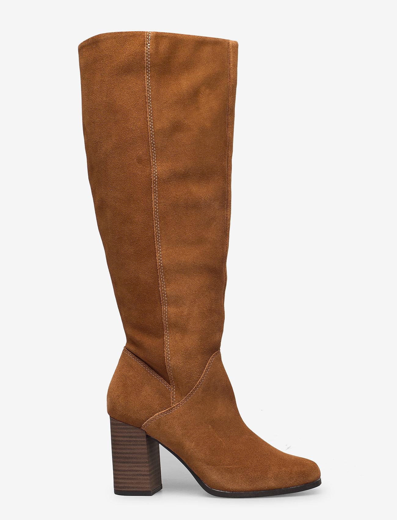 Tamaris - Woms Boots - lange laarzen - muscat - 1