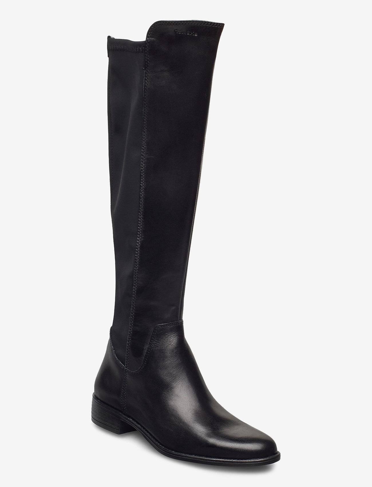 Tamaris - Woms Boots - lange laarzen - black - 0