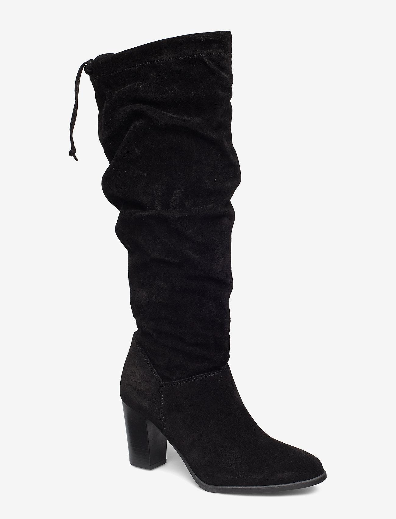 Tamaris - Boots - pitkävartiset saappaat - black - 0