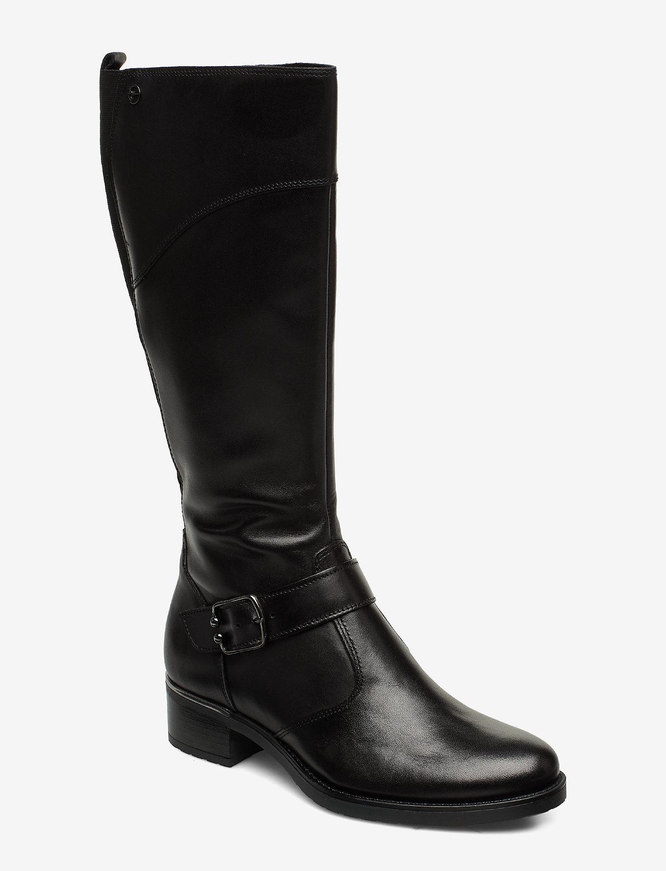 Tamaris - Boots - lange stiefel - black - 0