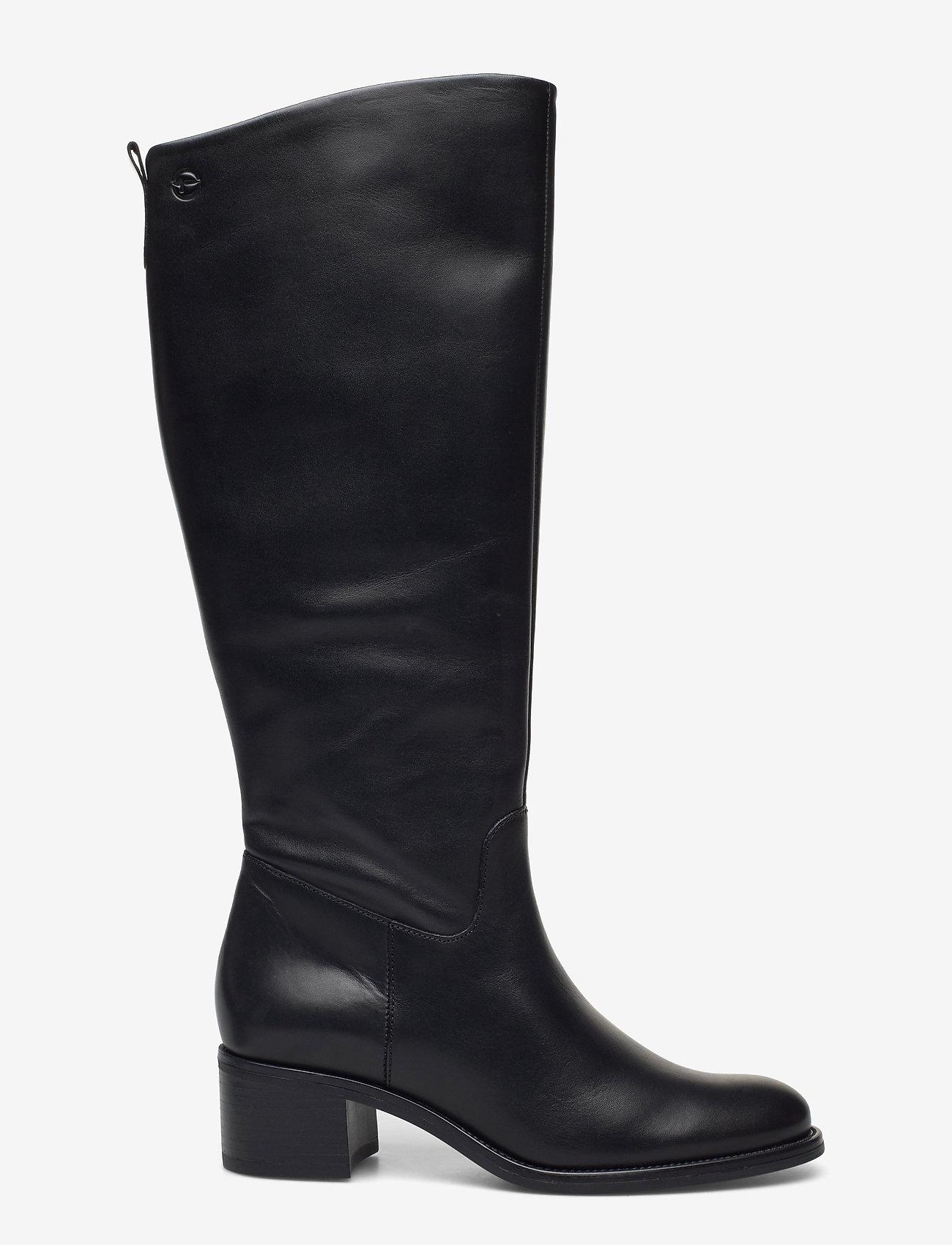 Tamaris - Woms Boots - lange laarzen - black - 1