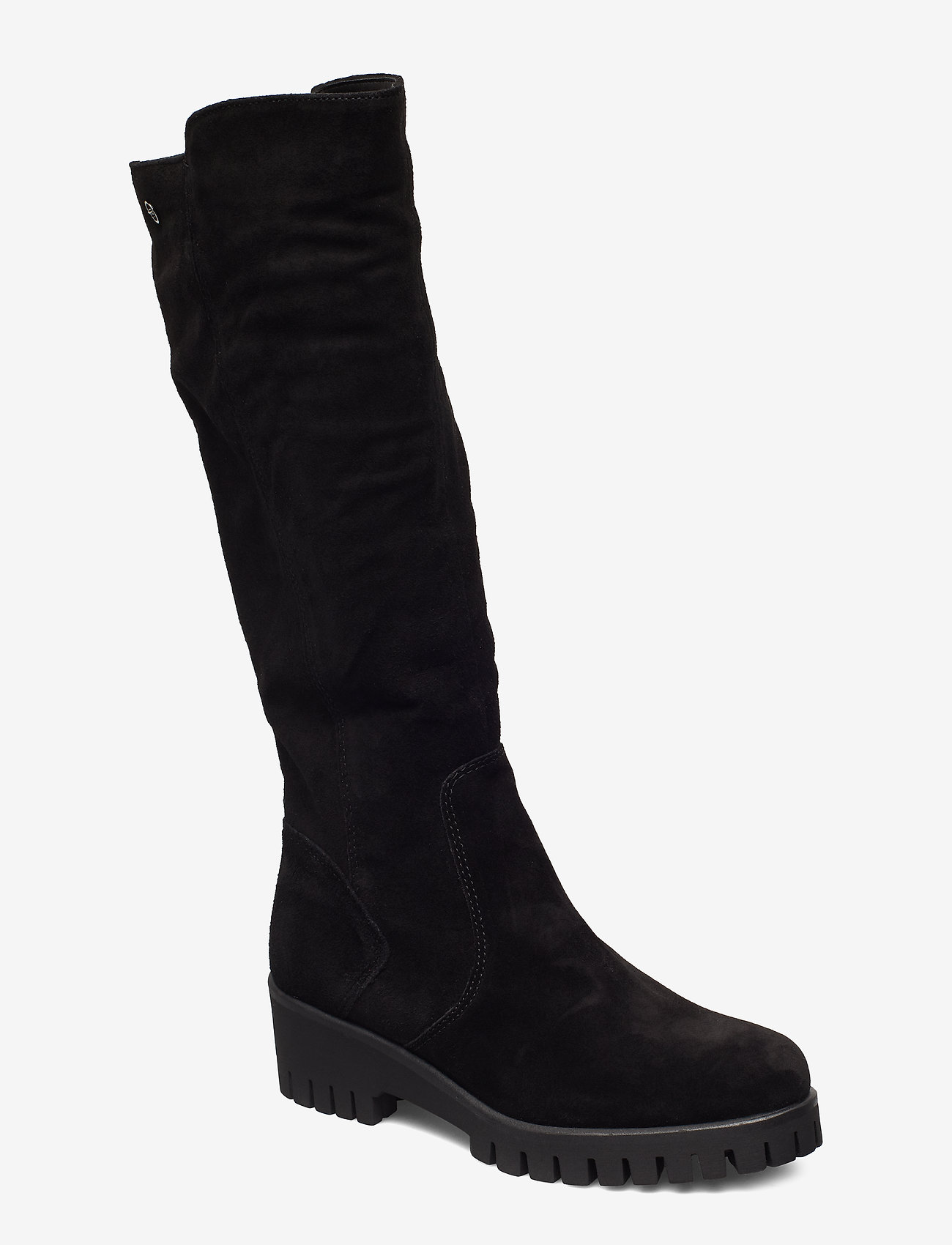 Tamaris - Boots - long boots - black suede - 0