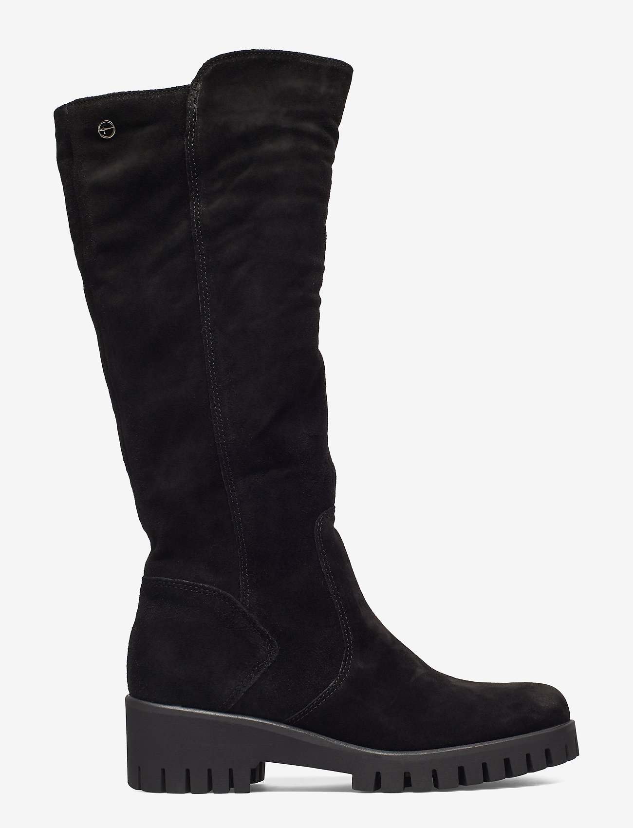 Tamaris - Boots - long boots - black suede - 1