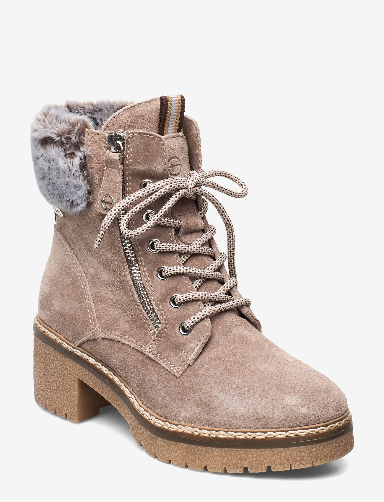 Tamaris - Boots - ankle boots with heel - antelope - 0