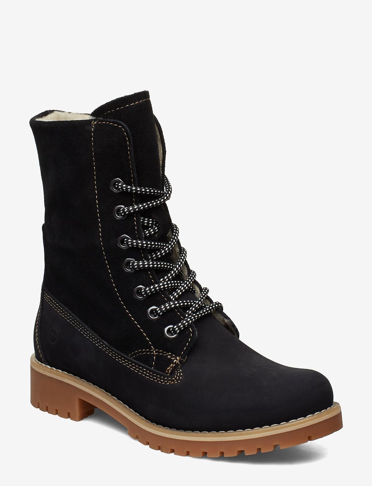 Tamaris - Boots - flache stiefeletten - black - 0