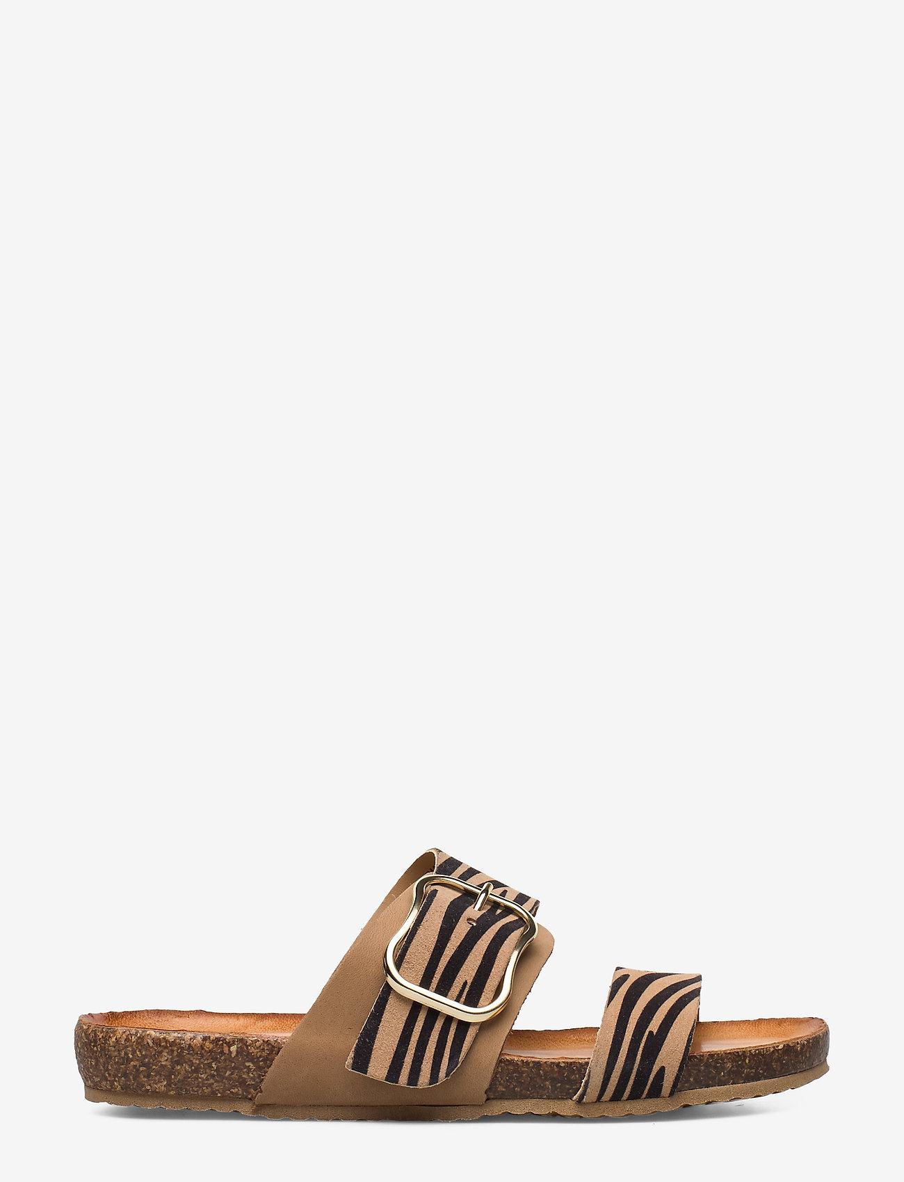 Tamaris - Woms Slides - flat sandals - nature comb - 1