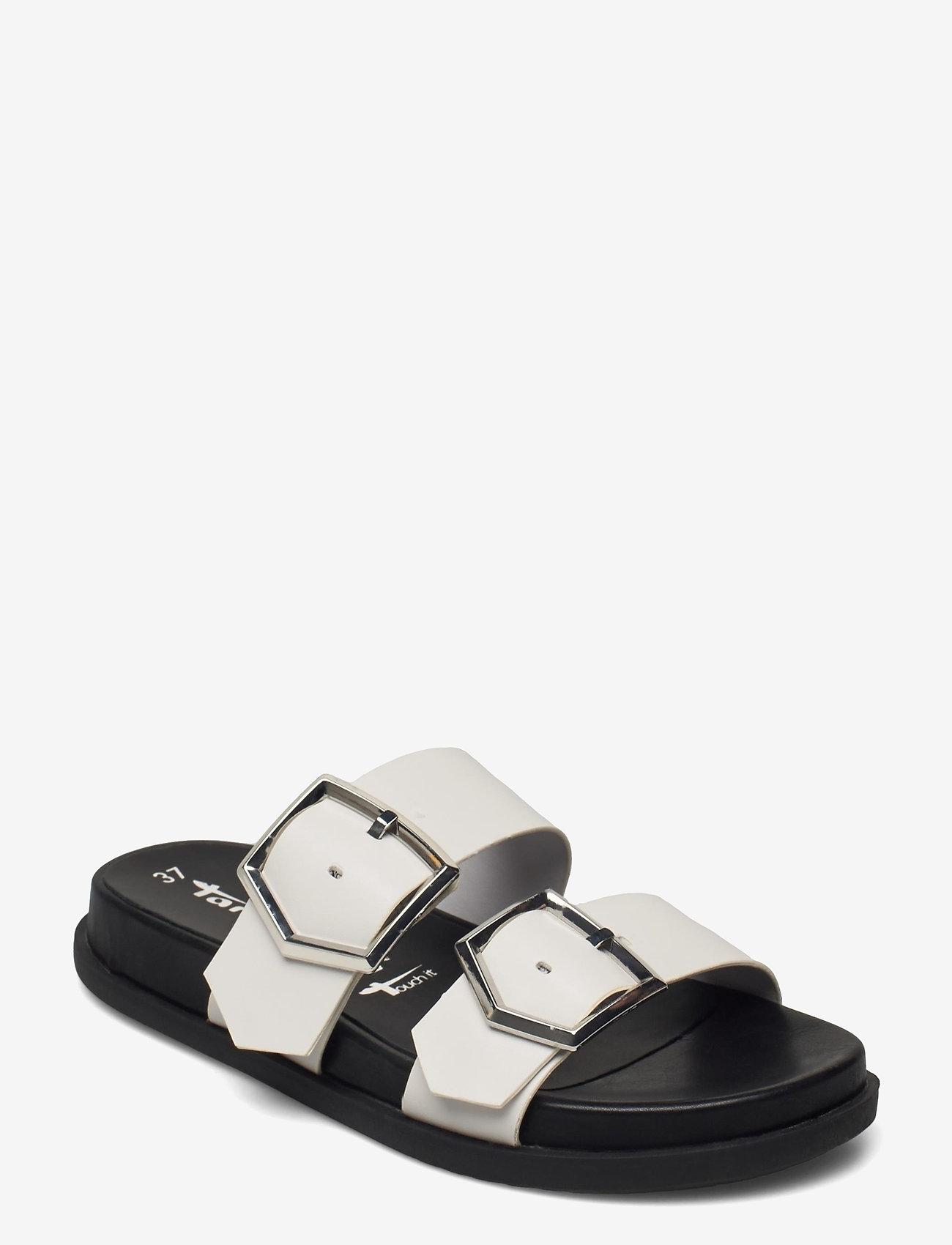 Tamaris - Woms Slides - sandales - offwhite matt - 0