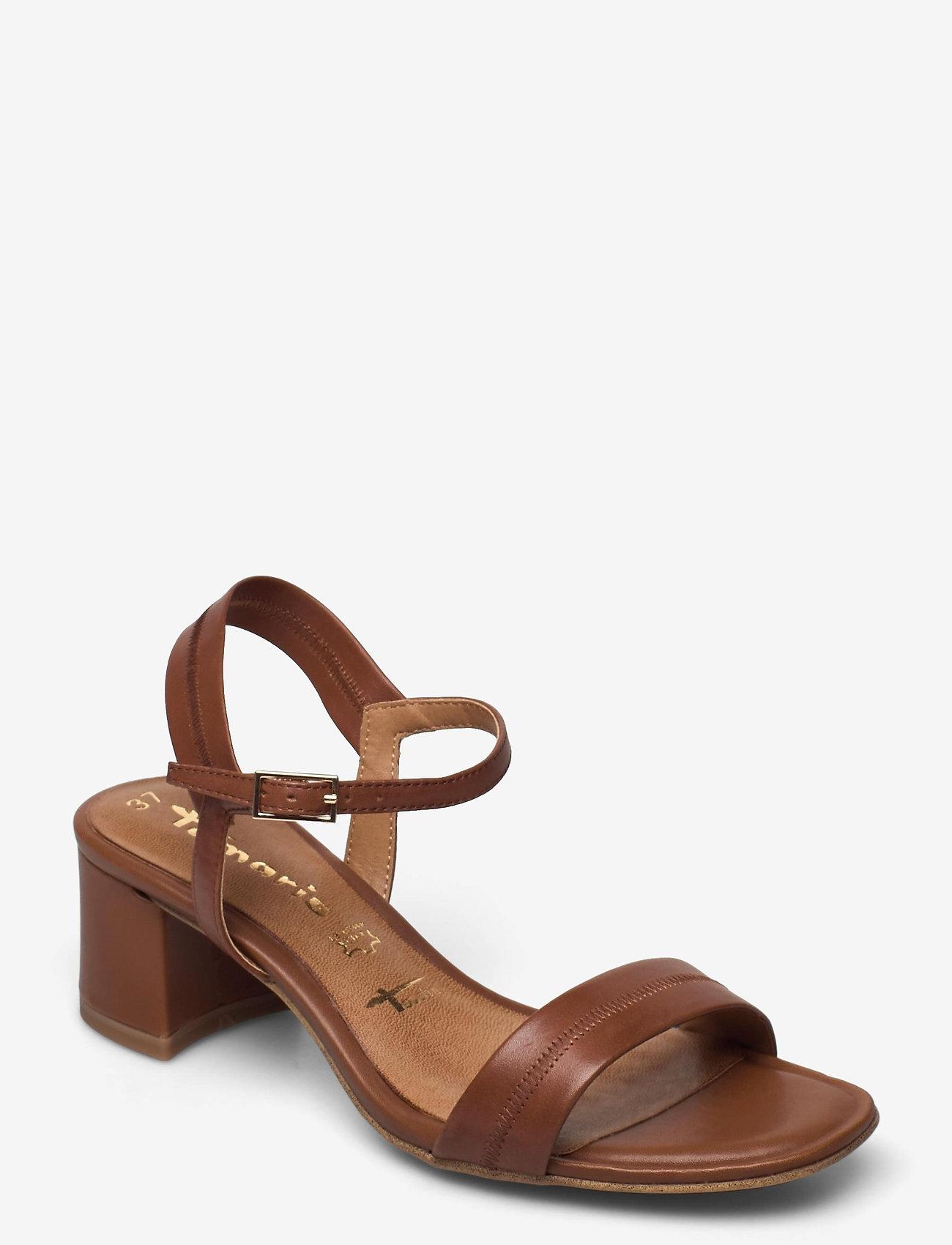 Tamaris - Woms Sandals - sandales à talons - cognac - 0