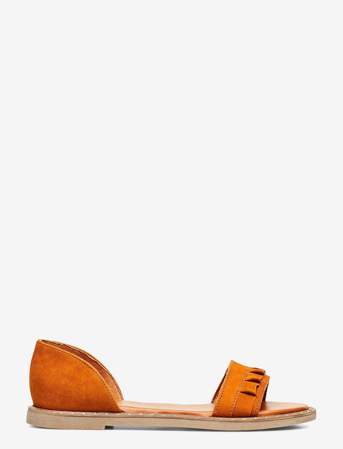 Tamaris - Woms Sandals - flate sandaler - cognac - 1