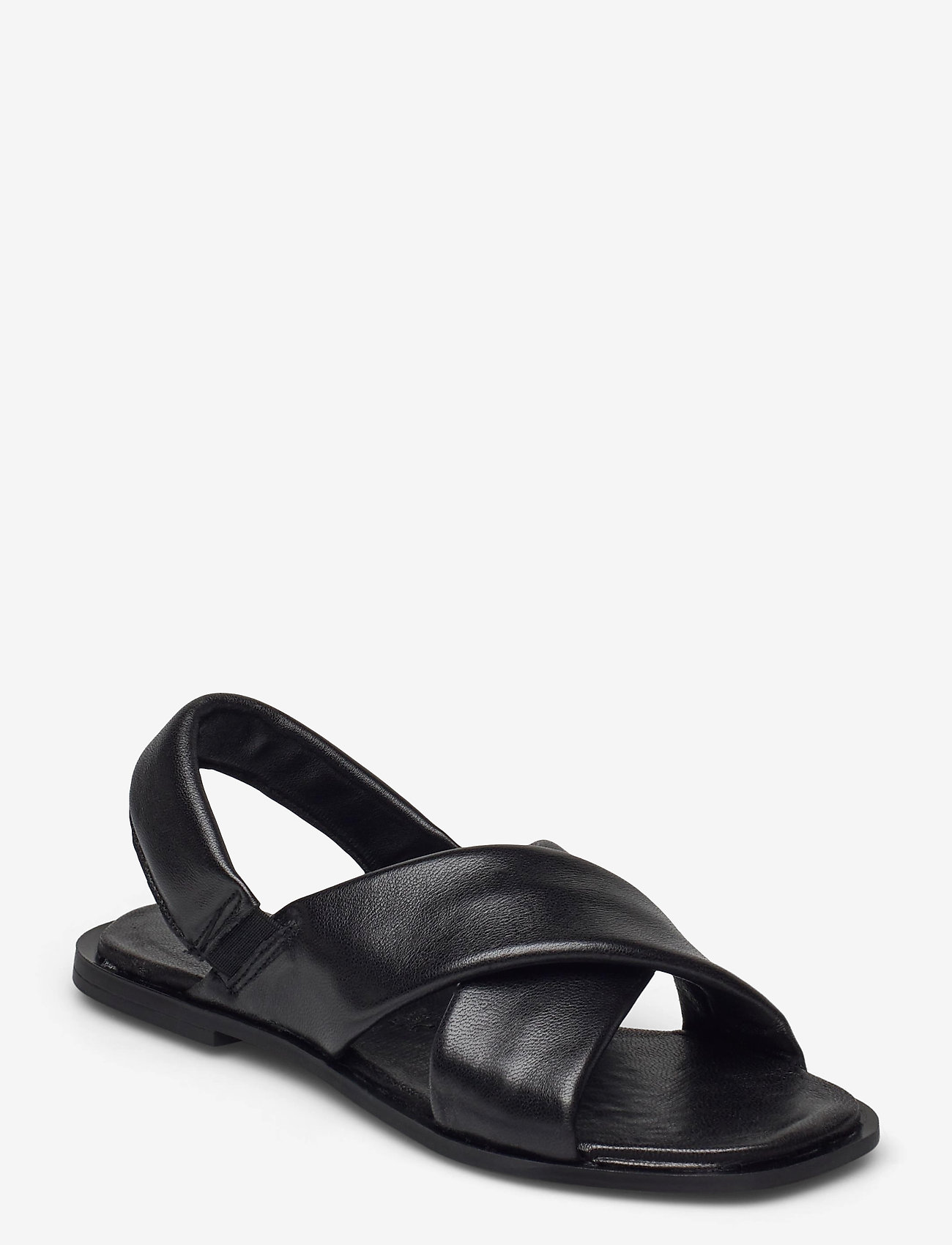 Tamaris - Woms Sandals - sandales - black leather - 0