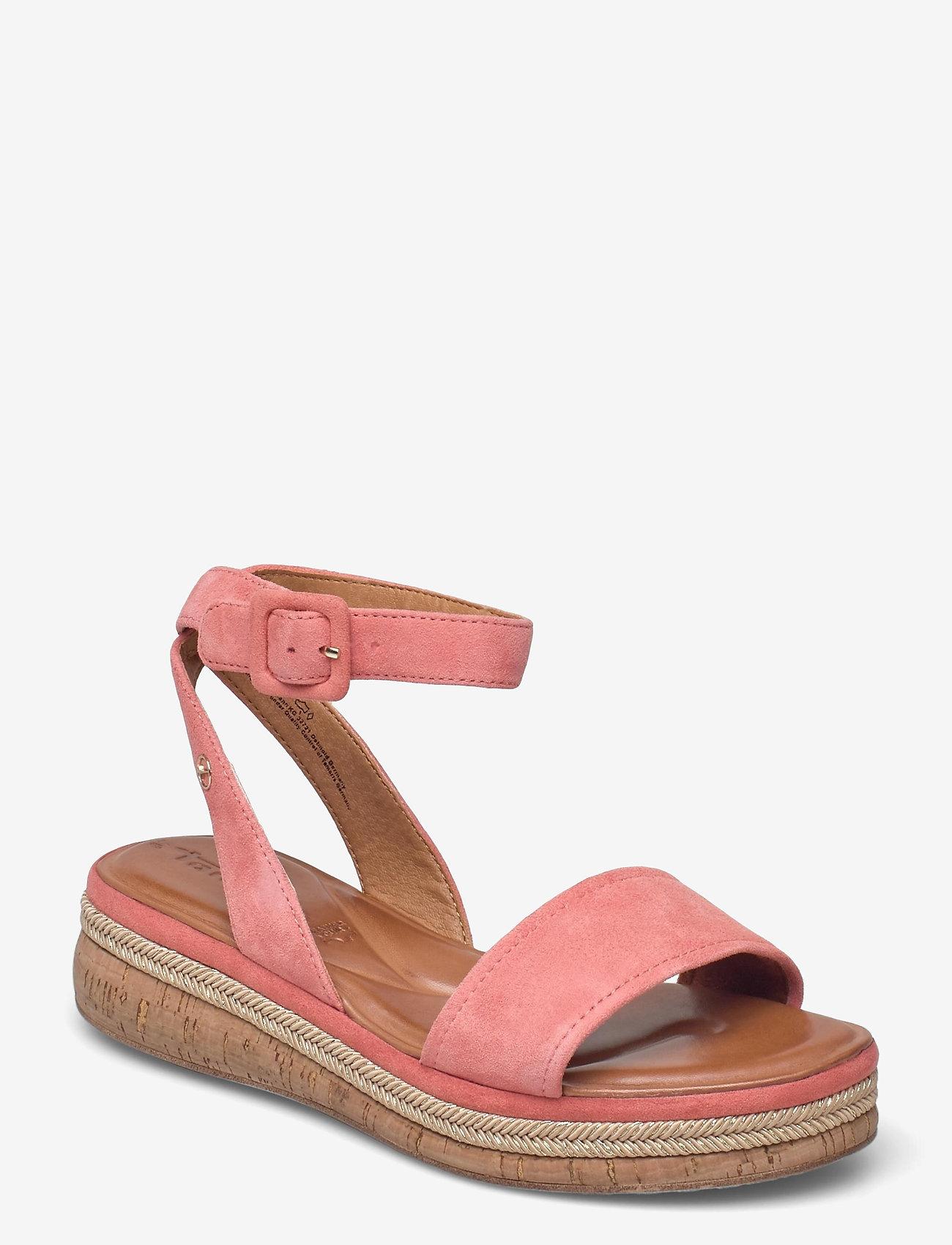 Tamaris - Woms Sandals - platta espadriller - candy - 0