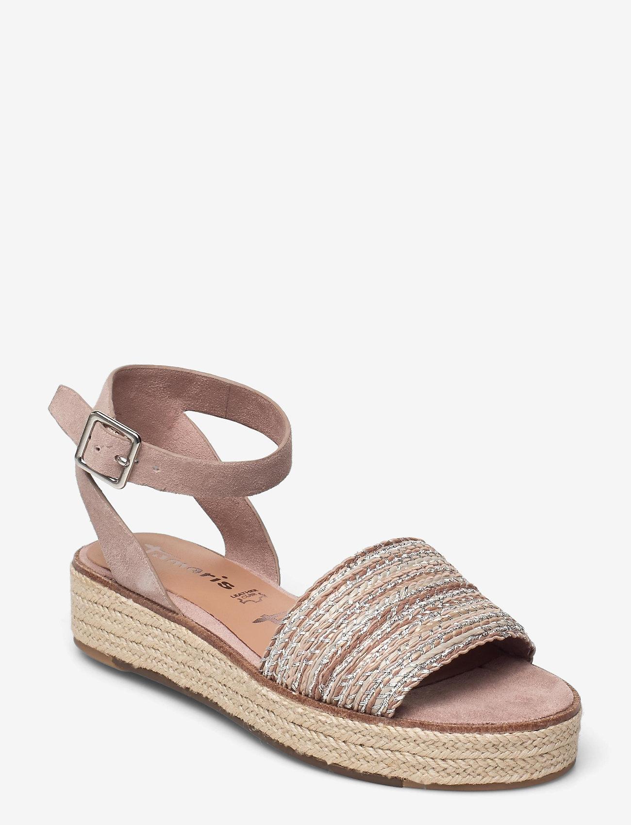 Tamaris - Woms Sandals - flache espadrilles - old rose - 1