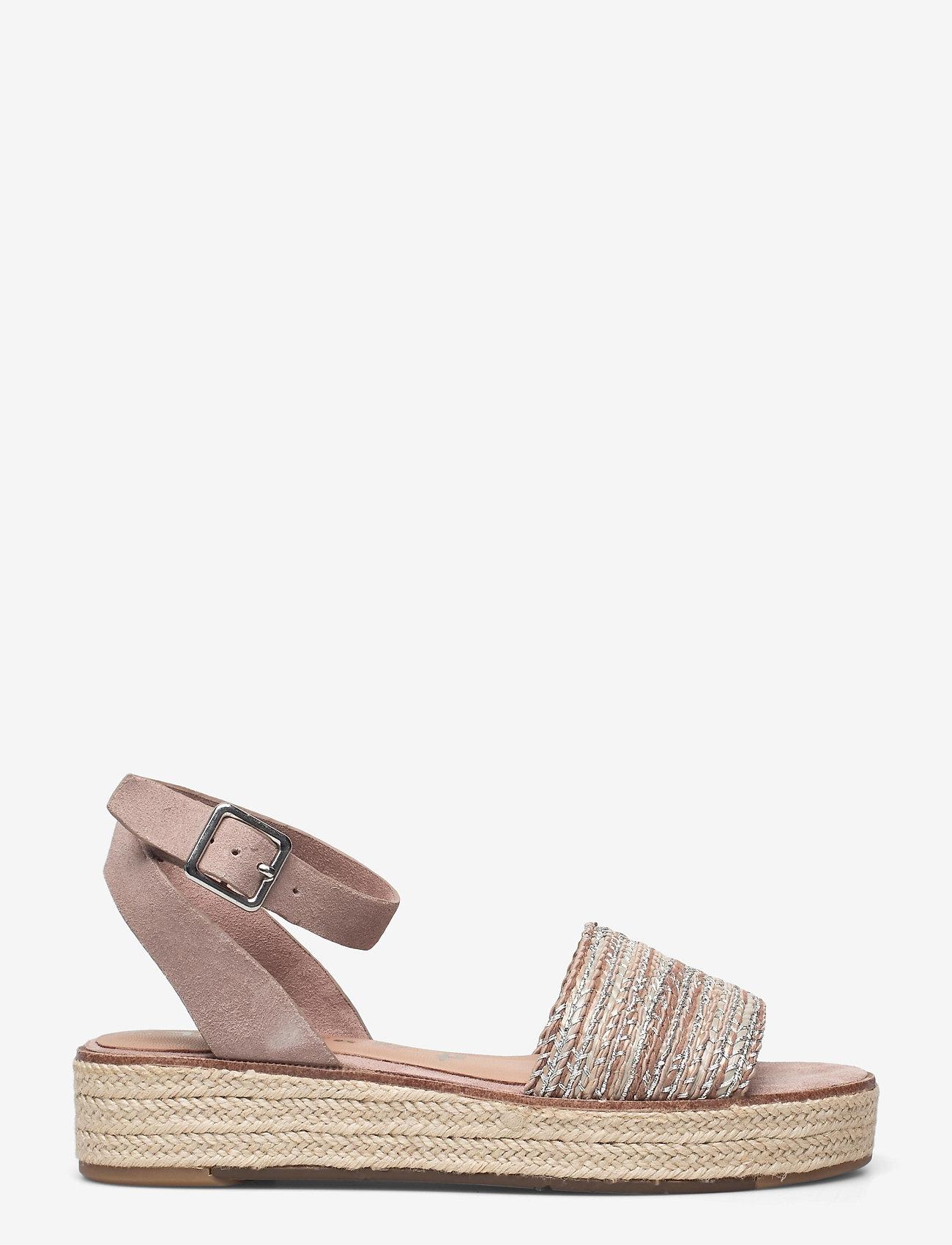 Tamaris - Woms Sandals - flache espadrilles - old rose - 0
