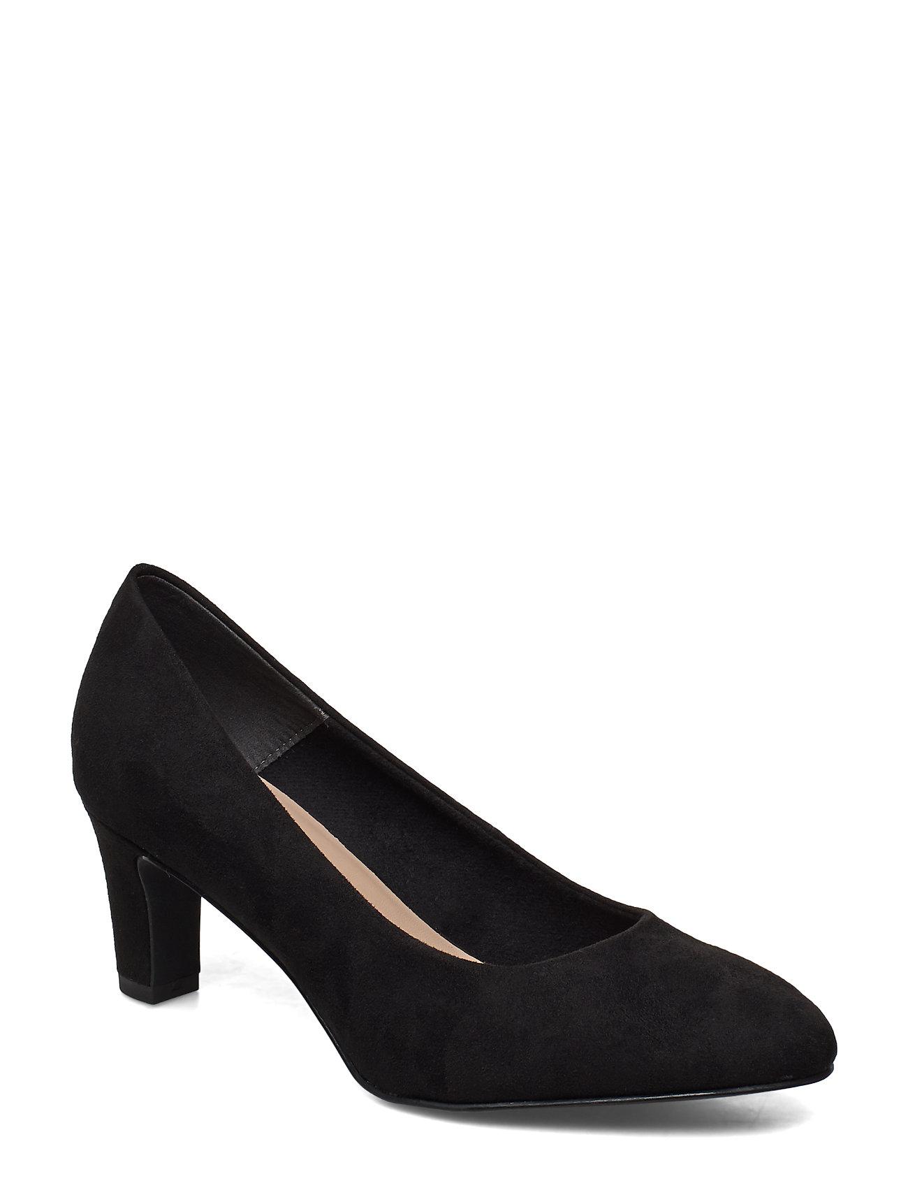 Tamaris Woms Court Shoe - BLACK