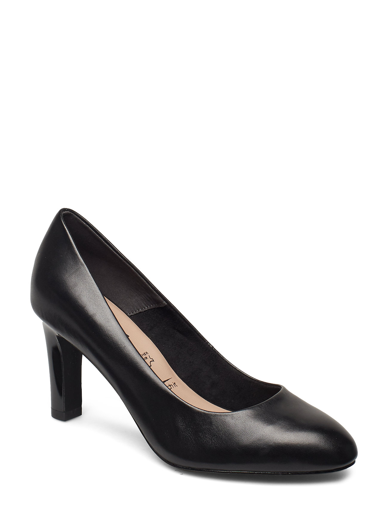 Tamaris Woms Court Shoe - BLACK