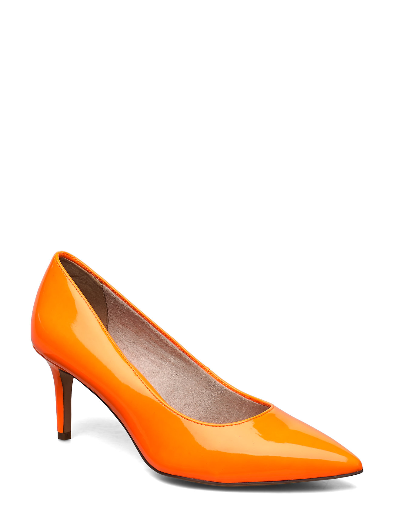 Tamaris Woms Court Shoe - ORANGE NEON