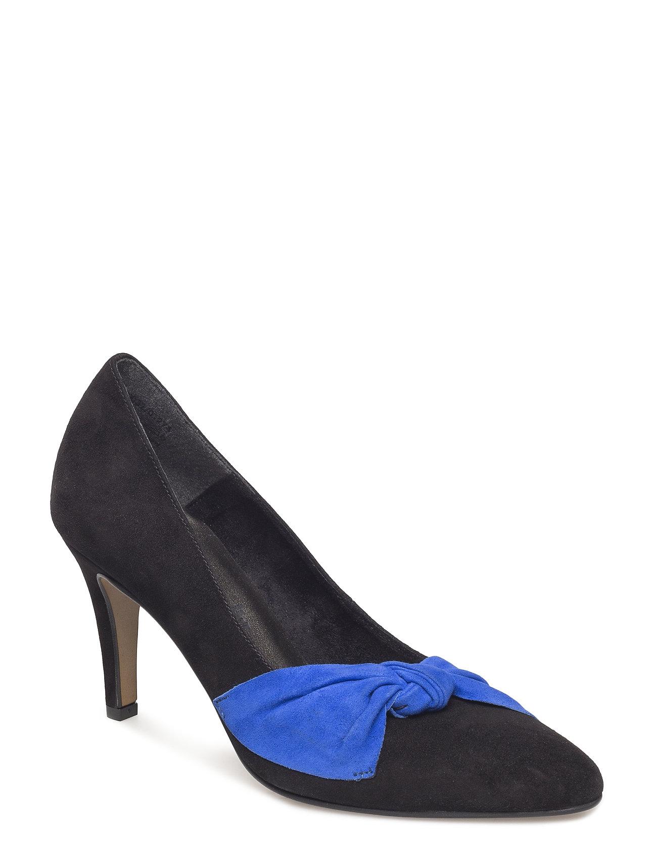 Tamaris Woms Court Shoe - BLACK/ROYAL