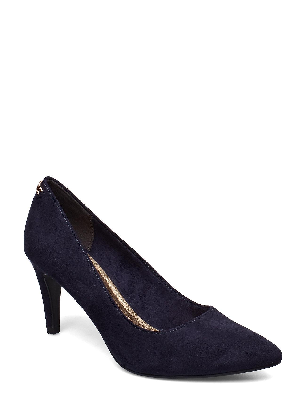 Tamaris Woms Court Shoe - NAVY