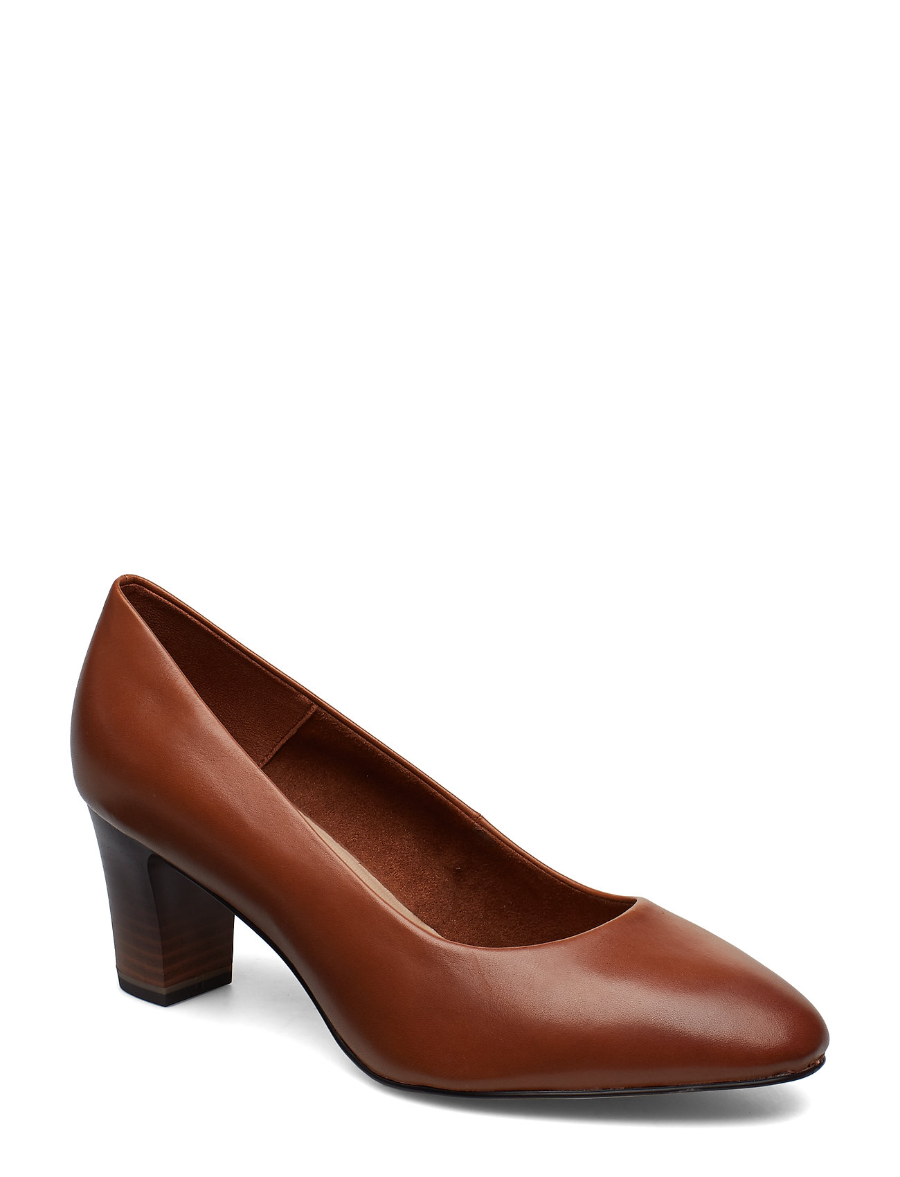Tamaris Woms Court Shoe - COGNAC