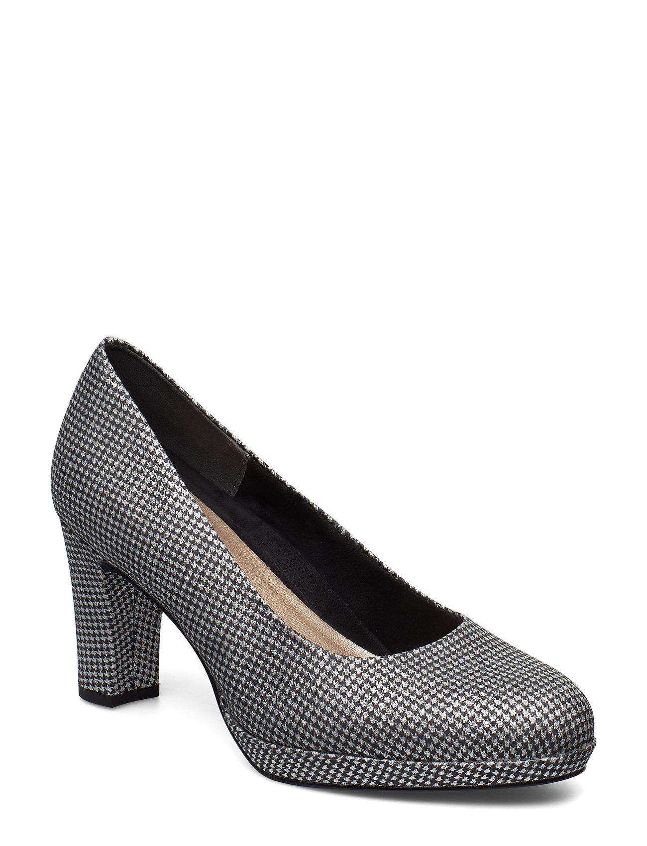 Tamaris Woms Court Shoe - PLAT.GLAM STR.