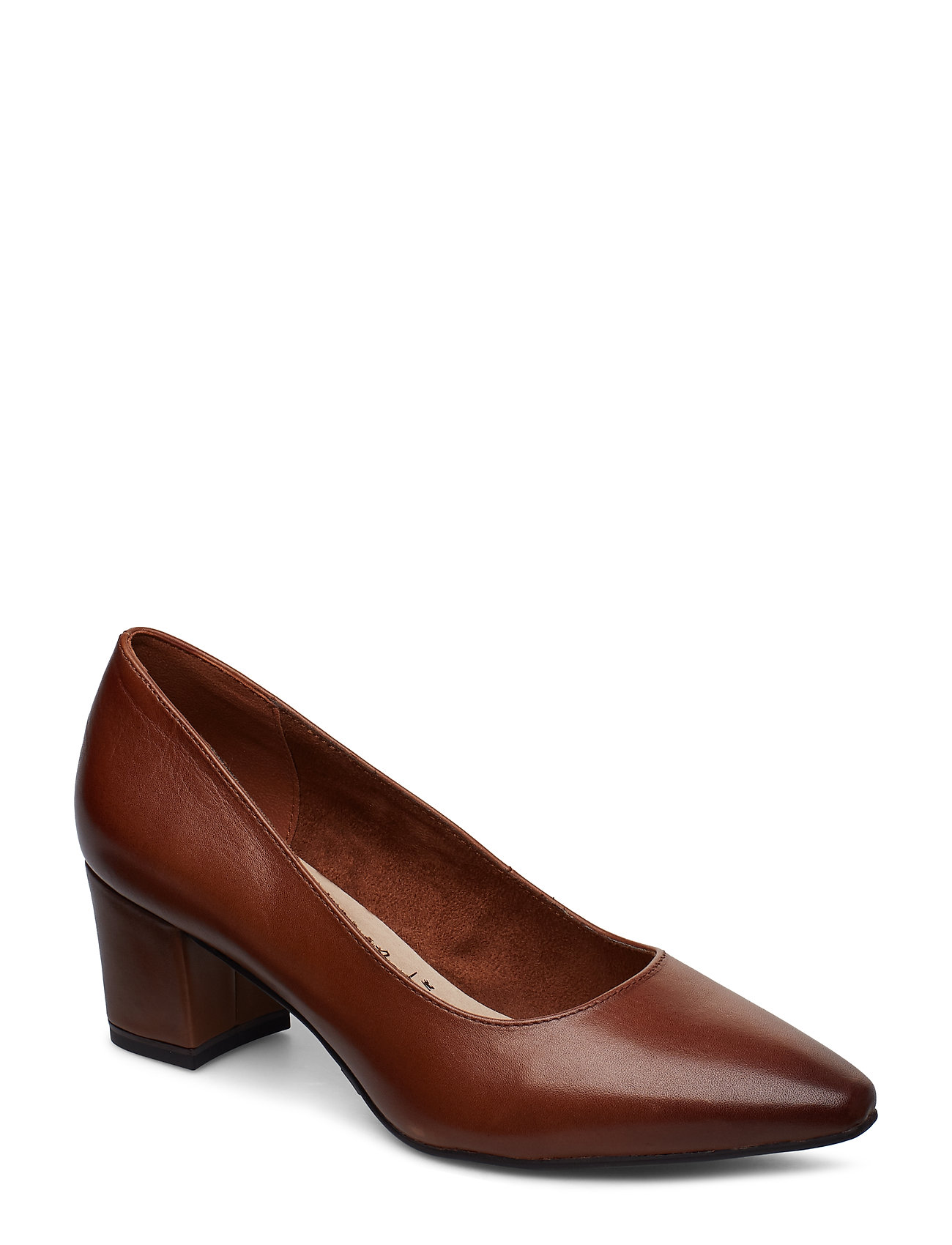 Tamaris Woms Court Shoe - MUSCAT LEATHER