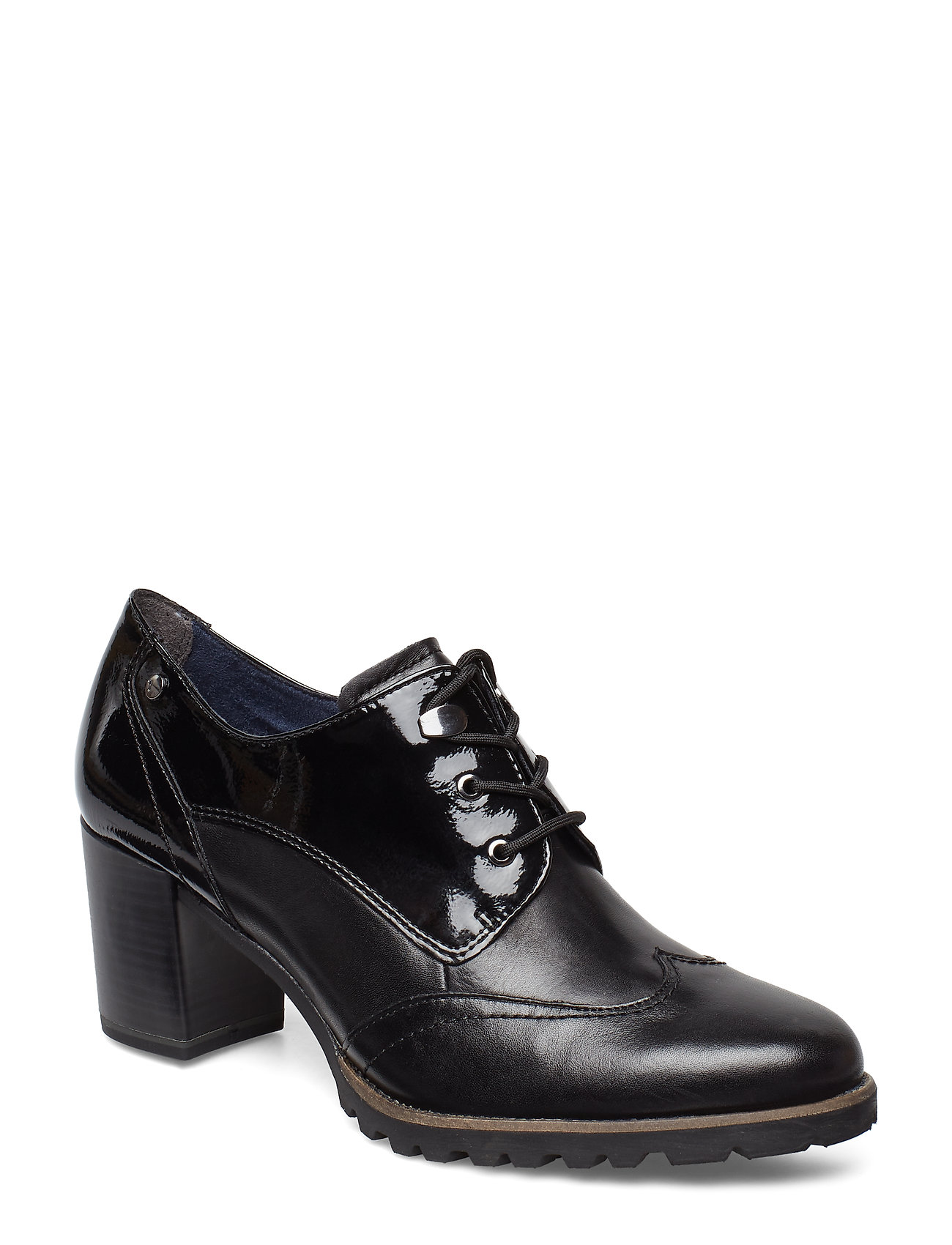 Tamaris Woms Lace-up - BLACK