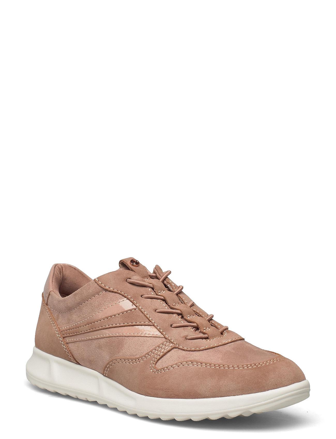 Woms Lace-Up Low-top Sneakers Beige Tamaris