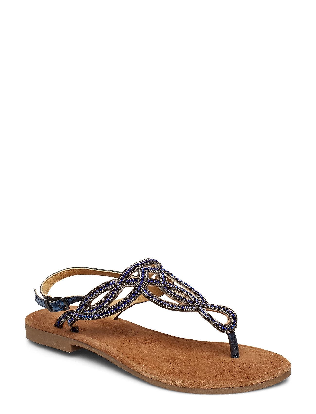 Tamaris Sandals - BLUE METALLIC