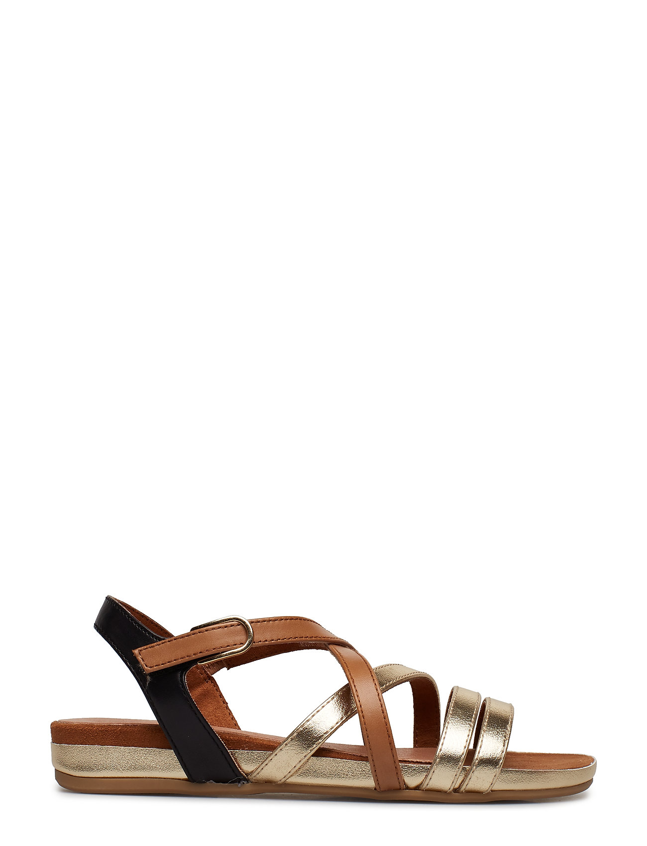 Woms Sandals Flade Sandaler Brun TAMARIS
