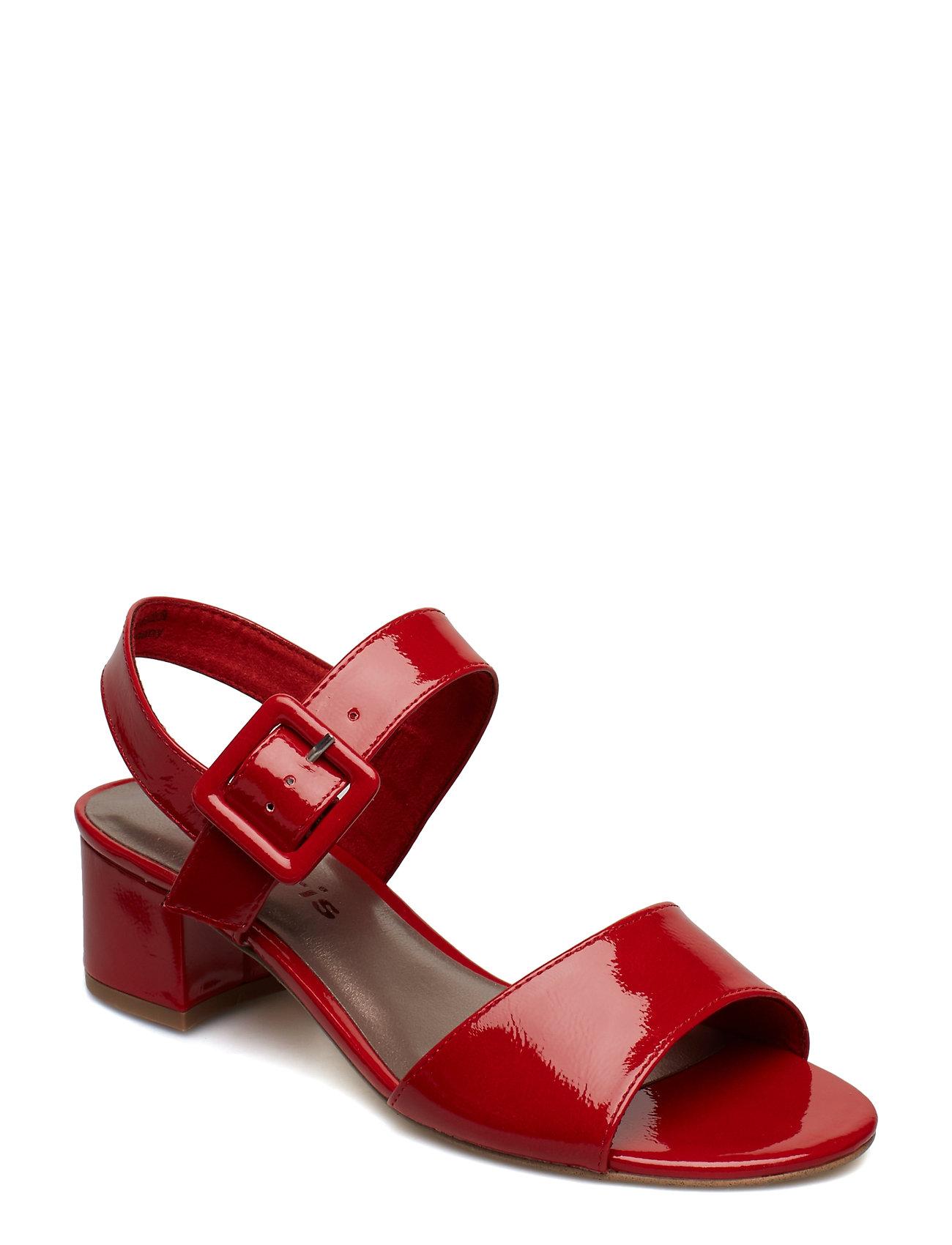 36cba0e3271b CHILI PATENT Tamaris Woms Sandals højhælede sandaler for dame ...