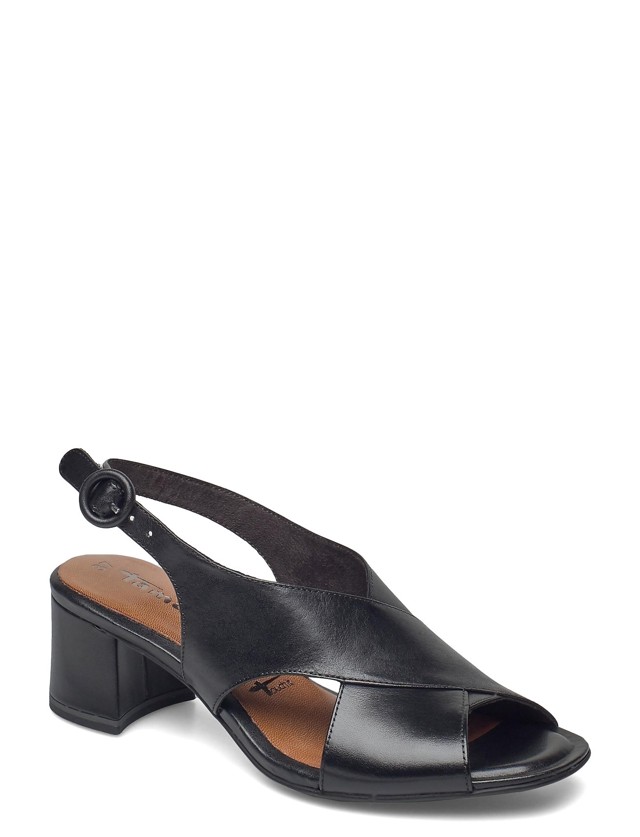 Woms Sandals Shoes Heels Pumps Sling Backs Sort Tamaris