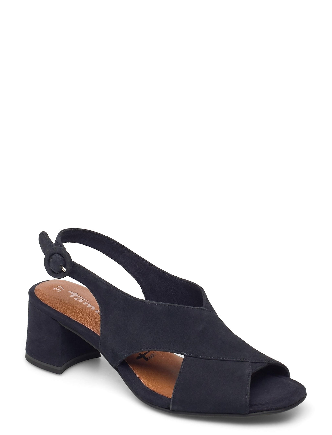 Woms Sandals Shoes Heels Pumps Sling Backs Blå Tamaris