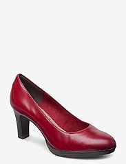 Woms Court Shoe - SCARLET