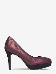 Tamaris - Woms Court Shoe - classic pumps - bordeaux met. - 1