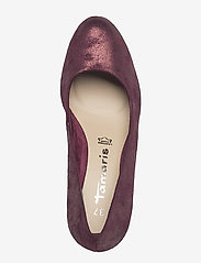 Tamaris - Woms Court Shoe - classic pumps - bordeaux met. - 3