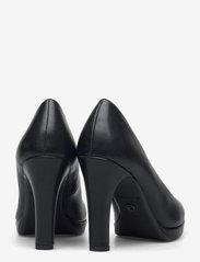 Tamaris - Woms Court Shoe - klasiski augstpapēžu apavi - black matt - 4