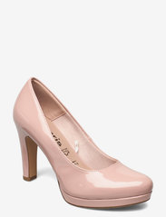 Woms Court Shoe - ROSE PATENT