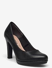 Woms Court Shoe - Moffen - BLACK MATT