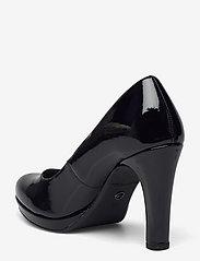 Tamaris - Woms Court Shoe - Moffen - klasiski augstpapēžu apavi - black patent - 2