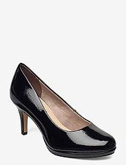 Tamaris - Woms Court Shoe - klassieke pumps - black patent - 0