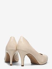Tamaris - Woms Court Shoe - klassieke pumps - cream patent - 4