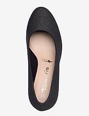 Tamaris - Woms Court Shoe - klassieke pumps - black glam - 3